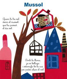 Carmen Queralt Collage Illustrations, Paper Collage Art, Children's Book Illustration, Creative Art, Book Worms, Art For Kids, Applique, Calendar, Doodles