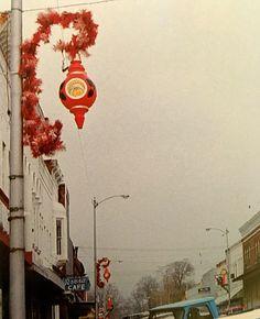 A-large-vintage-blow-mold-municipal-street-pole-Christmas ...