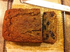 Low-Glycemic Blueberry Banana Bread