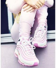 Women s Nike Air Max 97 In Bordeaux Pink White Trainer Tenis Vans 791c69799
