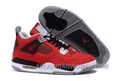 83bd9dcb7bbd5e Eminem X Carhartt X Air Jordan 4 Canvas Toro Bravo Red Black-White On Sale  New