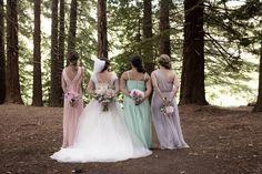 Brides And Bridesmaids, Bridesmaid Dresses, Wedding Dresses, Girls Dresses, Flower Girl Dresses, Real Weddings, Bouquet, Flowers, Beautiful