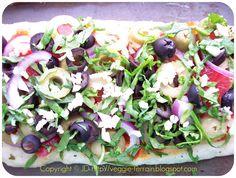 Veggie Terrain: Cheese-Less Flatbread Pizzas: They're Re-Vegan-Diculous!