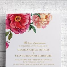 Just added to my collection: spring wedding invitation with watercolor floral design by @edenweddingstudio. What do you think?  #springwedding #springweddinginvitation #wedding #weddinginspiration #weddinginvitations by edenweddingstudio