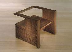 Kings Road child chair, design: Rudolph Schindler, 1942, reedition by Marmol Radziner Furniture