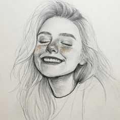 Image may contain: 1 person, drawing - kunst - Art Sketches Cool Art Drawings, Pencil Art Drawings, Realistic Drawings, Art Drawings Sketches, Easy Drawings, Portrait Sketches, Horse Drawings, Pencil Sketch Art, Face Pencil Drawing