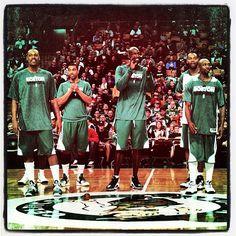 #Celtics open practice for season ticket holders