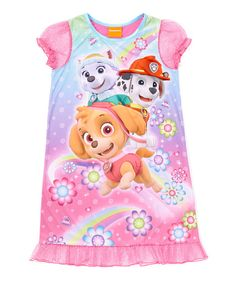 9dc43a660d Look at this Pink PAW Patrol Nightgown - Toddler & Girls on #zulily  today