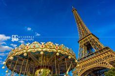 Eiffel Tower and Carousel Paris France - [2048 x 1367]