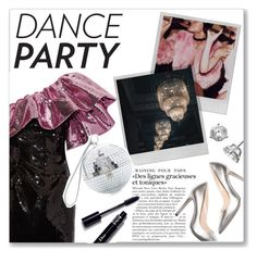 """""""dance party"""" by myduza-and-koteczka ❤ liked on Polyvore featuring Polaroid, Yves Saint Laurent, M. Gemi, Dolce&Gabbana and Bony Levy"""