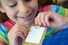 make a clipboard for your 18 inch doll