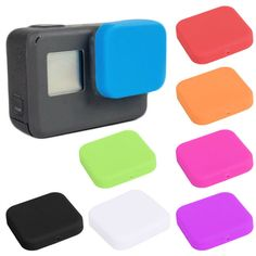 Black Housing Case Soft Silicone Protective Lens Cap Cover For GoPro 4K HERO 5 #Unbranded