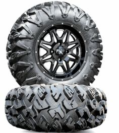 MSA M26 Vibe Milled Wheels EFX MotoClaw Tires