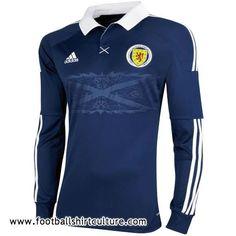 Scotland 11/12 Adidas Home Football Shirt | 11/12 Kits | Football Shirt Culture.com