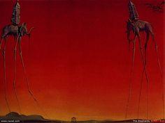SURREALISMO: Los Elefantes de Salvador Dalí