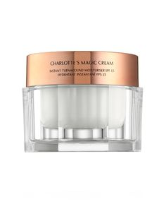 Make up artists don't come much more legendary than Charlotte Tilbury. Shop her iconic range at Cult Beauty, with next-day shipping and luxury samples available. Best Moisturizer, Moisturiser, Charlotte Tilbury Magic Cream, Charlotte Tilbury Makeup, Creme, Skin Burns, Cream For Oily Skin, Face Skin Care, Makeup Designs