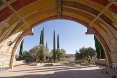 Paolo Soleri: Arcosanti, an experimental town in the Arizone desert