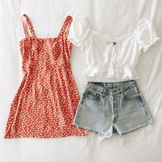 Affordable Women S Fashion Clothing Teen Fashion Outfits, Girly Outfits, Cute Casual Outfits, Outfits For Teens, Pretty Outfits, Jugend Mode Outfits, Outfit Goals, Aesthetic Clothes, Spring Outfits