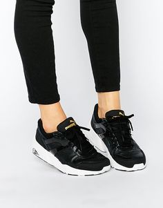 Puma R698 Leather Sneakers