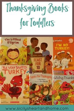 Thanksgiving Books for Toddlers | Need a book list for this year's Thanskgiving? Look no further. This list has over 10 toddler Thanksgiving books that we are reading this year in our tot school. Click through to check them out.