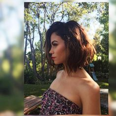 "Celebrity Hairstylist on Instagram: ""We got into the ✂️✂️'s again! gave @jennaldewan the ""Daria"" (Werbowy) chopped cut. Haircolor by @denisdesouza Makeup @patrickta ✂️ #JennaDewanTatum #IOutdoorCuts"""