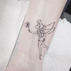 This Tinkerbell tattoo is just beautiful! Lydia is now fully booked and if you'd like an appointment with her when she's next with us then pop into the studio and get on the waiting list. We'll take the details of your new tattoo and you'll be the...