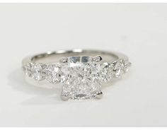 2.51 Carat Diamond Floating Diamond Engagement Ring | Recently Purchased | Blue Nile