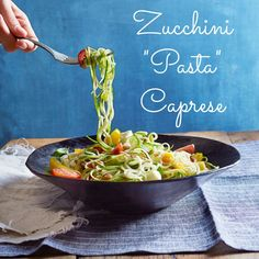 Forget carb-heavy pasta! This creative twist brings you fresh Italian flavor without any of the guilt.