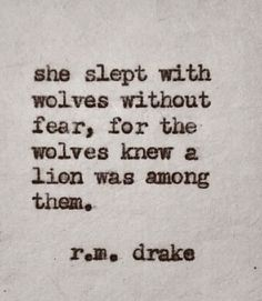 The absolute truth of a true Lioness ❤️