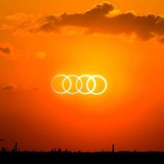 The Audi rings solar eclipse – amazing how far marketing guys can go! Enjoy this view when riding in your TT, etc… The Audi rings solar eclipse – amazing how far marketing guys can go! Enjoy this view when riding in your TT, etc… My Dream Car, Dream Cars, Audi Quotes, Audi Q7 Tdi, New Audi Car, Audi Motorsport, Car Jokes, Solar Eclipse, Sexy Cars