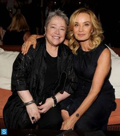 American horror story love these 2 actress