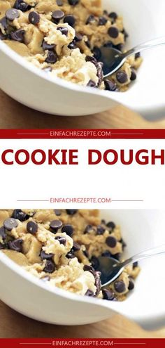 COOKIE DOUGH – You can also nibble this cookie dough RAW (with recipe) 😍 😍 😍 - therezepte sites Healthy Cookie Recipes, Healthy Muffins, Healthy Cookies, Baking Recipes, Best No Bake Cookies, Gluten Free Cookies, Cookie Dough Brownies, Brownie Cookies, Gourmet Desserts