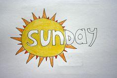 #30DOC Day 17: It's SUNday!