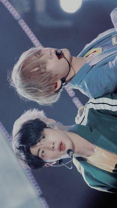 Seokjin/Jin and Taehyung/V