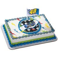 #NASCAR Jimmie Johnson 48 Victory Spin Cake Topper « racedayproducts.com