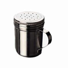 FocusFoodService 861 2 mm Dredge with Holes - 10 oz. - Pack of 4 by FocusFoodService. $45.13. Sold in packs of 4.. Ideal for shaking salt, spices, and powdered sugar.. Three different hole diameters available.. Welded handles for greater strength.. 18/8 Stainless steel construction.. 18/8 Stainless steel construction. Ideal for shaking salt, spices, and powdered sugar. Three different hole diameters available. Welded handles for greater strength. Sold in packs of 4. 2 mm Ho...