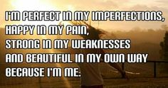 I am always me!