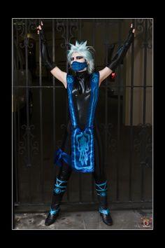 #Cosplay Mortal Kombat: #Frost (#Rule63 Sub-Zero)
