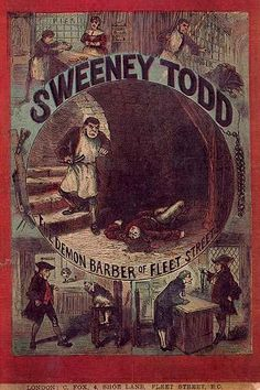 """The mythical maniac made his debut in the 1846 penny dreadful """"The String of Pearls: A Romance"""" and quickly became so popular as to be thought a real historic character."""
