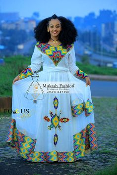 2019 New Habesha Kemis – Mukash Fashion African Print Dresses, African Fashion Dresses, African Dress, Ethiopian Wedding Dress, Ethiopian Dress, Ethiopian Traditional Dress, African Fashion Traditional, African Attire, African Wear
