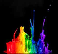 Rainbow Splatter