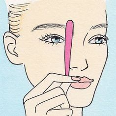 How To Pluck The Perfect Eyebrows