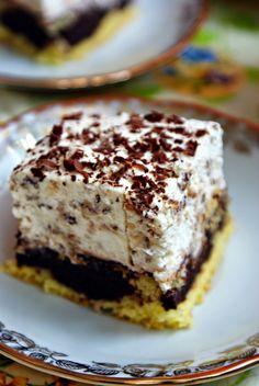 Pijana zakonnica - 365 dni dookoła kuchni Polish Desserts, Polish Recipes, Cookie Desserts, Cookie Recipes, Dessert Recipes, Delicious Desserts, Yummy Food, Sweets Cake, Pudding Cake
