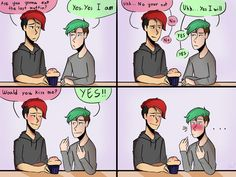 The Last Muffin | Septiplier Comic by CaseyKeshui | Mark and Jack
