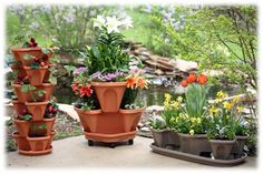 Garden Supply™ StackingPots - Hydroponics, Vertical Gardening, Commercial Growing Systems, High Density Production, Hydroponic Fertilizers and Nutrients Hydroponic Shop, Hydroponics, Grow Lamps, Sale Store, Self Watering, Jumpsuits For Women, Women Accessories, Planter Pots, Floral