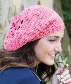 Summer Comfort Beanie Free Crochet Pattern in Aunt Lydia's Crochet Thread