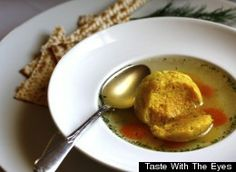 """Okay, everyone -- whether you call them matzo balls, matzoh balls, matzah balls or kneidlach, these Jewish soup dumplings are a staple of springtime eating. And, as with any well-loved traditional food, we all have our own opinions about what the """"best kind of matzo ball"""" is. We prefer ours to be fluffy, studded with herbs, swimming in a clear broth wit..."""