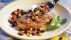 Spicy Mexican Skillet Chicken Folic acid is important for a healthy pregnancy. This skillet dish provides an excellent source of folic acid. Great Recipes, Favorite Recipes, Chicken Skillet Recipes, Turkey Recipes, Cilantro Lime Chicken, Cooking Recipes, Healthy Recipes, Healthy Dinners, Healthy Foods