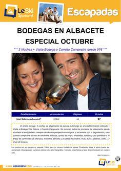 Escapada Bodegas en Albacete: Octubre + Visita Bodega Vitis Natura y Comida Campestre desde 97€ ultimo minuto - http://zocotours.com/escapada-bodegas-en-albacete-octubre-visita-bodega-vitis-natura-y-comida-campestre-desde-97e-ultimo-minuto/
