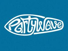 Rejected logo for a surfing related site Typography Logo, Logo Branding, Branding Design, Logos, Surf Brands, Sports Brands, Beach Words, Sweet Logo, Camp Logo